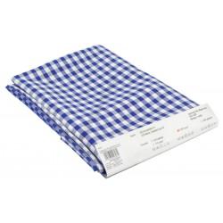 Abrosz 140×140 cm kék kockás