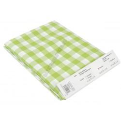 Abrosz 140×140 cm zöld kockás