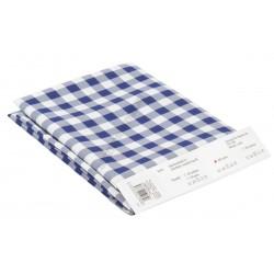 Abrosz 140×100 cm kék kockás