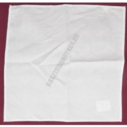 Hangedli 44×44 cm fehér damaszt