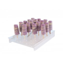 Jégkrémállvány fapálcikás jégkrémhez, 24 db-os, 360x250x50 mm