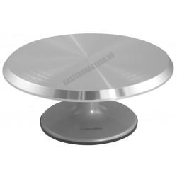 Forgatható alumínium tortaállvány, 29 cm