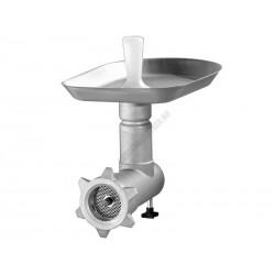 Húsőrlő segédgép, egyetemes konyhagéphez rozsdamentes (CrNi) kivitel GM-KF-605