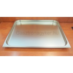 GN edény 2/1 40 mm (53x65x4 cm) 10 liter rozsdamentes tepsi