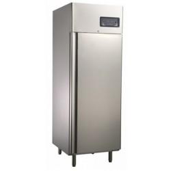 Teleajtós hűtőszekrény 600 literes rozsdamentes külsővel