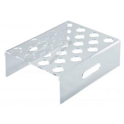 Jégkrémállvány kupakos formához, 25 db-os, átlátszó, plexi