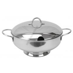 Ambra levestál fedővel 26 cm 4 liter