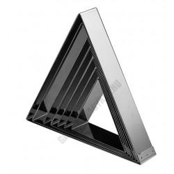 Sütőkeret, háromszög, 120x140x40 mm, rozsdamentes
