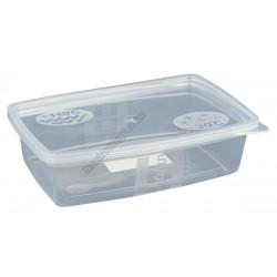 Ételszállító edény fedővel 0,5 liter 100db/csomag