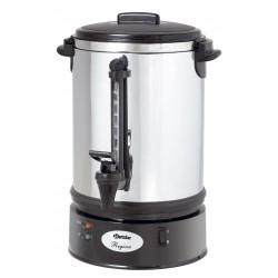Tea és filteres kávéfőzőgép 15 liter, rejtett fűtőszálas