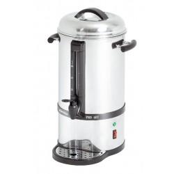 Tea és filteres kávéfőzőgép 15 liter, rejtett fűtőszálas forróvíz-adagoló
