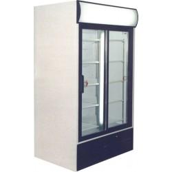 Csúszó üvegajtós felépítményes hűtővitrin