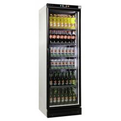 Üvegajtós hűtővitrin 375 literes digitális