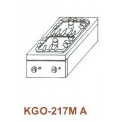 Gáz Főzőasztal,asztali, 2 égő 1 ráccsal KGO-217 MA 1