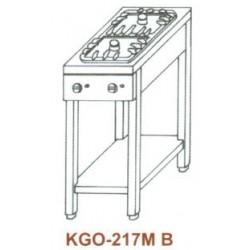 Gáz Főzőasztal, 2 égő, 1 ráccsal KGO-217 MB 1