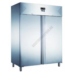Kétajtós rozsdamentes hűtőszekrény 1300 liter KH-GN1410TN-HC