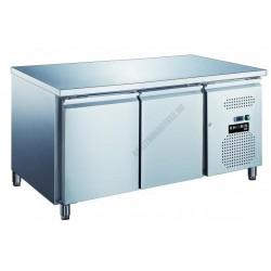 2 ajtós fagyasztó munkaasztal 282 liter KH-GN2100BT-HC