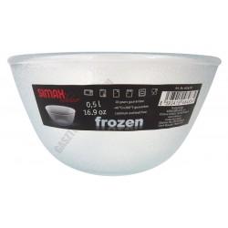 Simax hőálló jénai tál, 0,5 l, Frozen