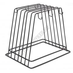 Vágódeszkatartó 6 vágólaphoz 30×27×27 cm