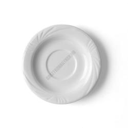 Lubin kávéscsészealj, 14,5 cm, alumina porcelán