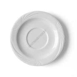Lubin levesescsésze alj, 16,5 cm, alumina porcelán