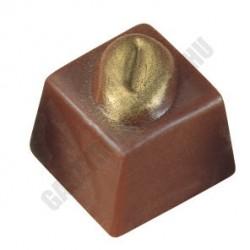 Bonbon csokoládéforma (MA1019), 40 adag, polikarbonát