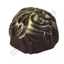 Bonbon csokoládéforma (MA1037), 275x175 mm, 40 adagos, polikarbonát
