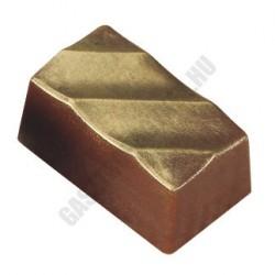 Bonbon csokoládéforma (MA1082), 275x175 mm, 30 adagos, polikarbonát