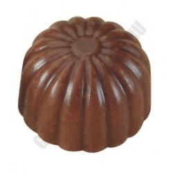 Bonbon csokoládéforma (MA1530), 275x175 mm, 40 adagos, polikarbonát