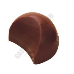Bonbon csokoládéforma (MA1609), 24 adag, polikarbonát