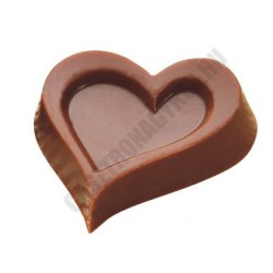 Bonbon csokoládéforma (MA1613), 15 adag, polikarbonát