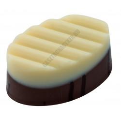 Bonbon csokoládéforma (MA1631), 275x175 mm, 30 adagos, polikarbonát