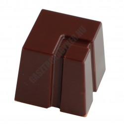 Bonbon csokoládéforma (MA1800), 28 adag, polikarbonát
