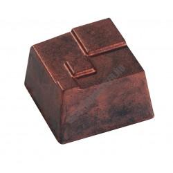 Bonbon csokoládéforma (MA1965), 30 adag, polikarbonát