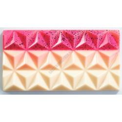 Táblás csokoládéforma (MA2009), 3 adag, polikarbonát