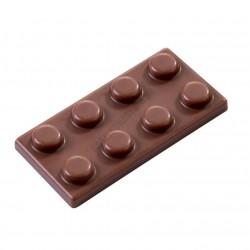Chocobrick csokoládéforma (MA6005), 20 adag, polikarbonát