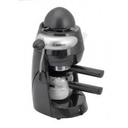 Elektromos kávéfőző 2-4-6 személyes, fekete