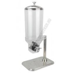 Müzli adagoló 1db 7 literes tartály, fém talp