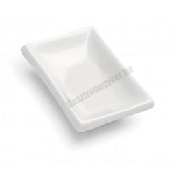 Mini Party fűszervajas tányér, 10x6x3 cm, szupererős porcelán