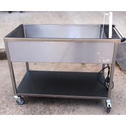 Elektromos vízfürdős melegen tartó, gördíthető NM-1240
