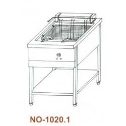 Elektromos olajsütő 1×20 lit. NO-1020