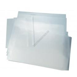 Leválasztó, vax fólia, íves, 60x40 cm, 90 mikronos, 50 db/csomag