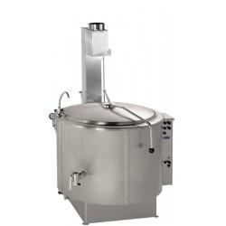 Önállóan telepíthető gőzüzemű főzőüst 200 liter GM-RKD-200