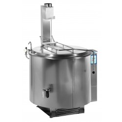 Önállóan telepíthető gázüzemű főzőüst 400 liter GM-RKG-401