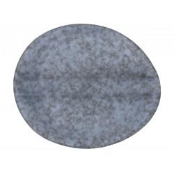 Organica couver-zsemle tányér, 16 cm, kőporcelán