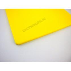 Vágólap, 60x40x2 cm, sárga