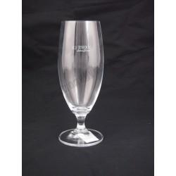 Sörös pohár, 380 ml, mértékjeles, kristály