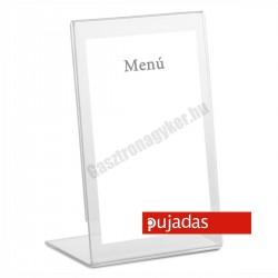 Asztali kártyatartó