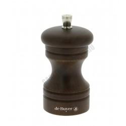 Fűszerőrlő, sötét, 10 cm, Paso, de Buyer