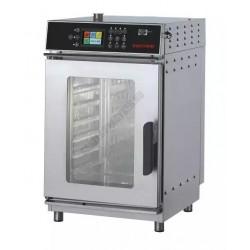 Kombi sütő-pároló, érintőpaneles, compact, Inoxtrend, 7×GN1/1, elektromos, 8.8 Kw